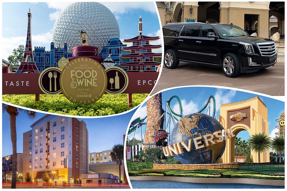 Orlando Car Service to Universal and Disney