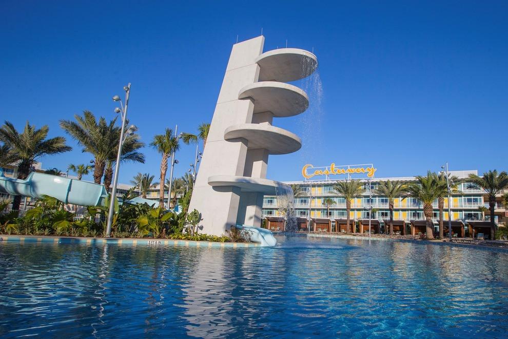 Taxi from Orlando-Sanford International Airport SFB to Universal's Cabana Bay Beach Resort