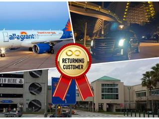 🇺🇸 ★★★★★ Airport Transportation From SFB To Hilton Orlando Lake Buena Vista.