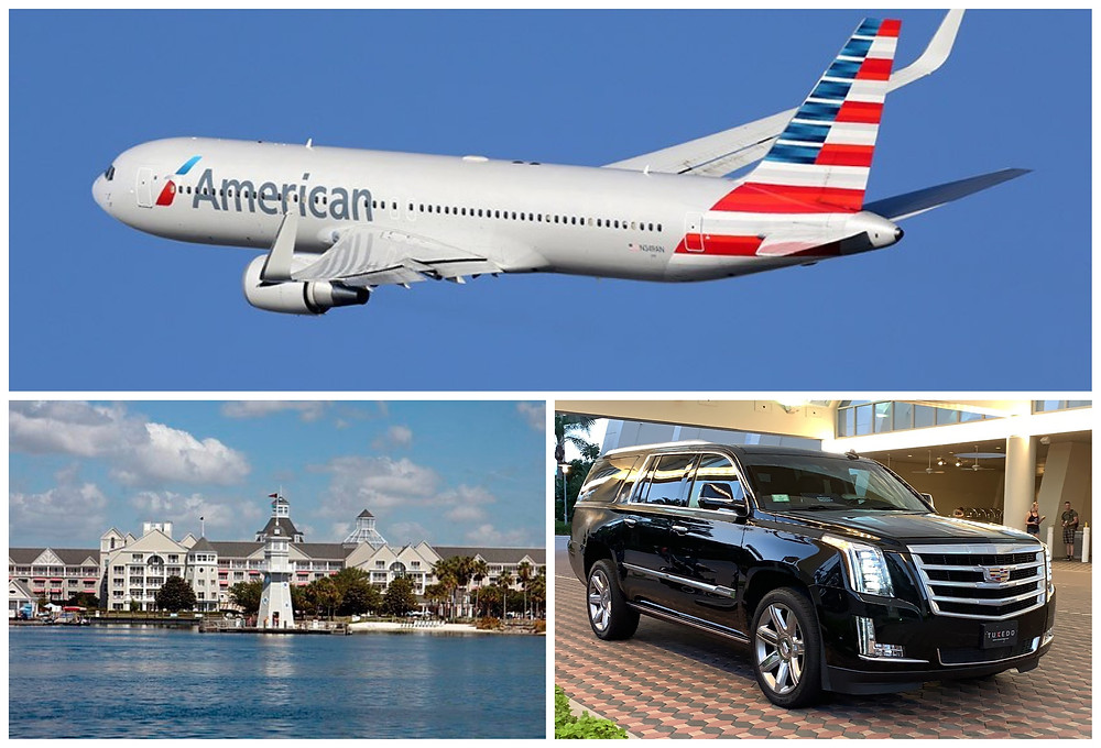 Car Service From MCO To Disney's Yacht Club Resort