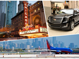 🇺🇸 ★★★★★ Chicago Car Service From Midway Airport MDW.