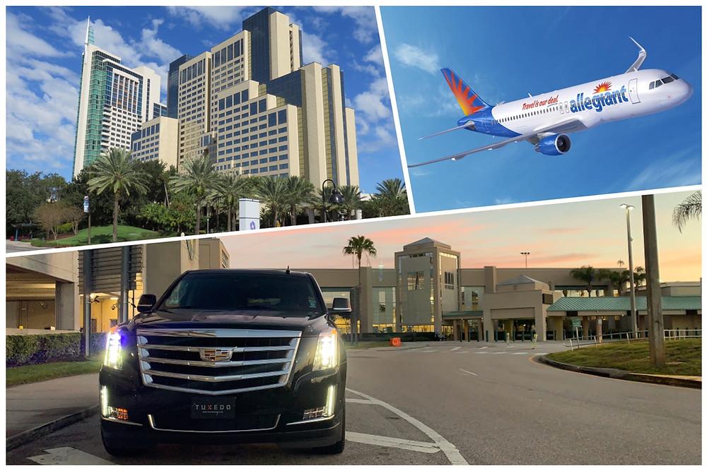 Car Service From Sanford Airport To Hyatt Regency Orlando