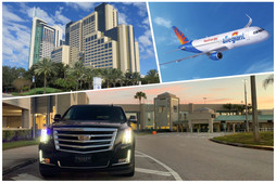 🇺🇸 ★★★★★ Car Service From Sanford Airport To Hyatt Regency Orlando.