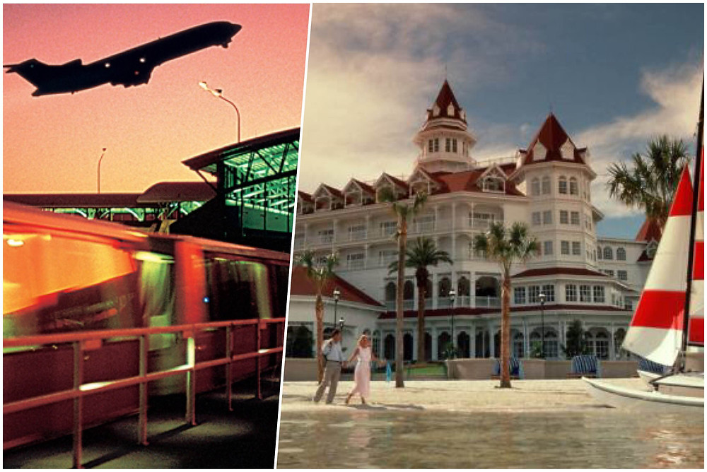 Transportation from airport to Disney's Grand Floridian