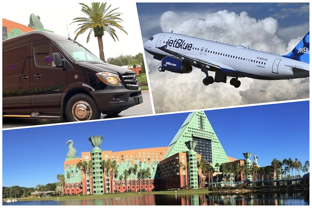 Airport Car Service From MCO To Dolphin Resort