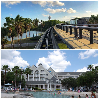 ORLANDO AIRPORT MCO TO DISNEY'S YACHT CLUB RESORT