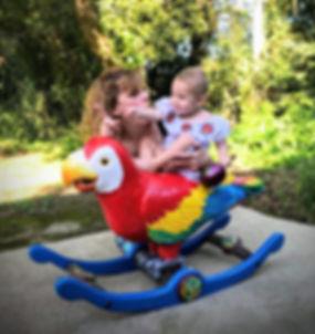 Mae and Gma with Macaw.jpg
