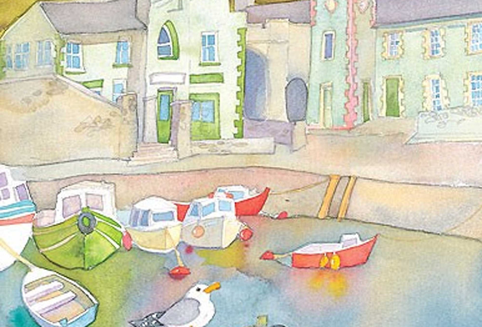 EMMA BALL CARNLOUGH LIMITED EDITION FRAMED PRINT