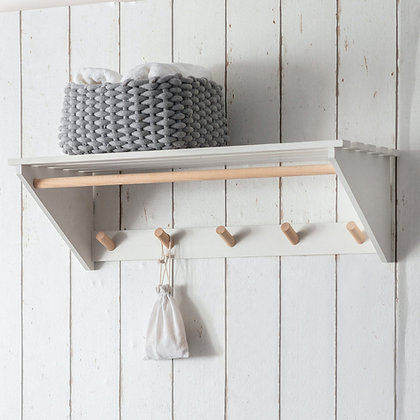 MELCOMBE SLATTED LAUNDRY SHELF - OUT OF STOCK, PRE ORDER FOR DELIVERY MID MARCH