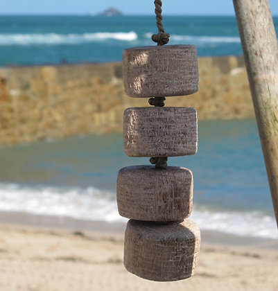 NATURAL WOODEN SEA FLOAT CHAIN