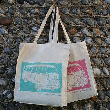 VW CAMPER COTTON BAG