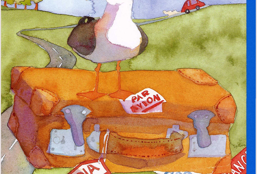 BON VOYAGE CARD BY EMMA BALL