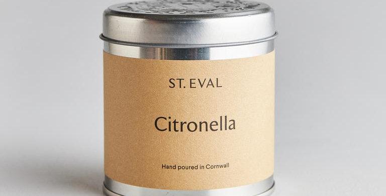 ST. EVAL CITRONELLA TIN CANDLE