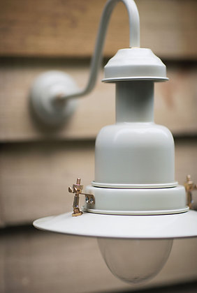 OUTDOOR WALL MOUNTED FISHING LIGHT - CLAY
