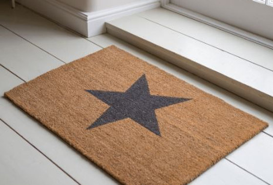 STAR DOORMAT - 2 SIZES AVAILABLE