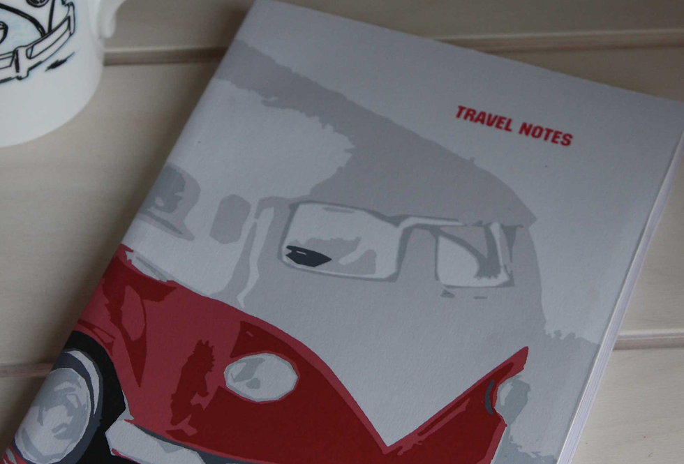 VW CAMPER TRAVEL NOTES BOOK