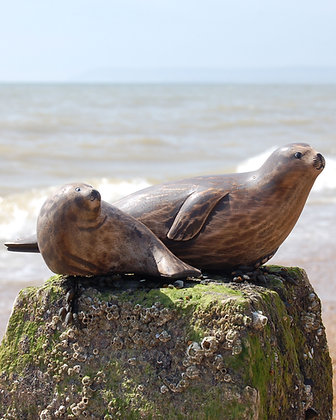 HAND CARVED GREY SEALS price from