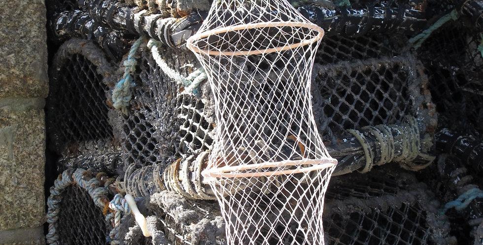 FISHING NET BASKET DECORATION