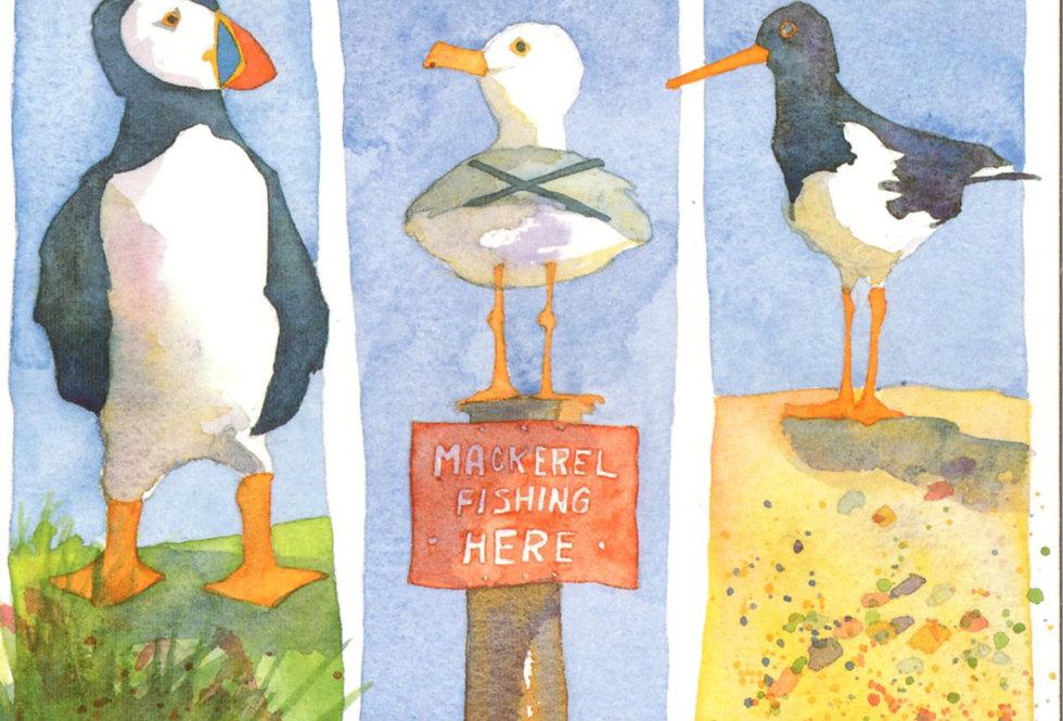 SEABIRDS CARD BY EMMA BALL