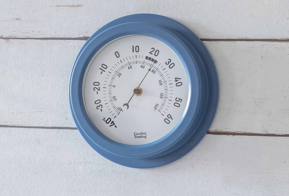 TENBY THERMOMETER - LULWORTH BLUE