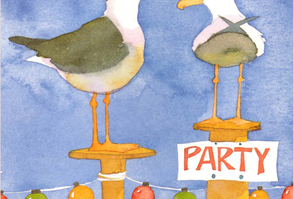 SEAGULL PARTY INVITES BY EMMA BALL