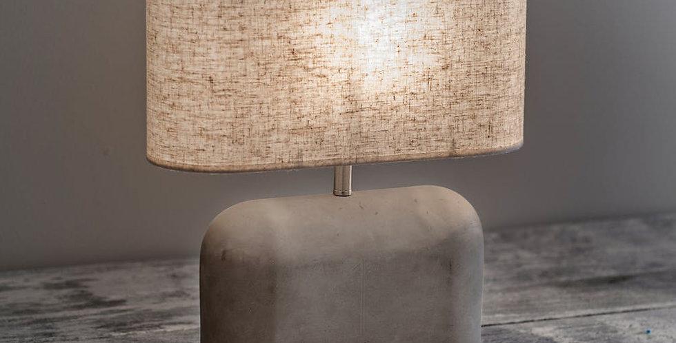 CONCRETE SLAB TABLE LAMP