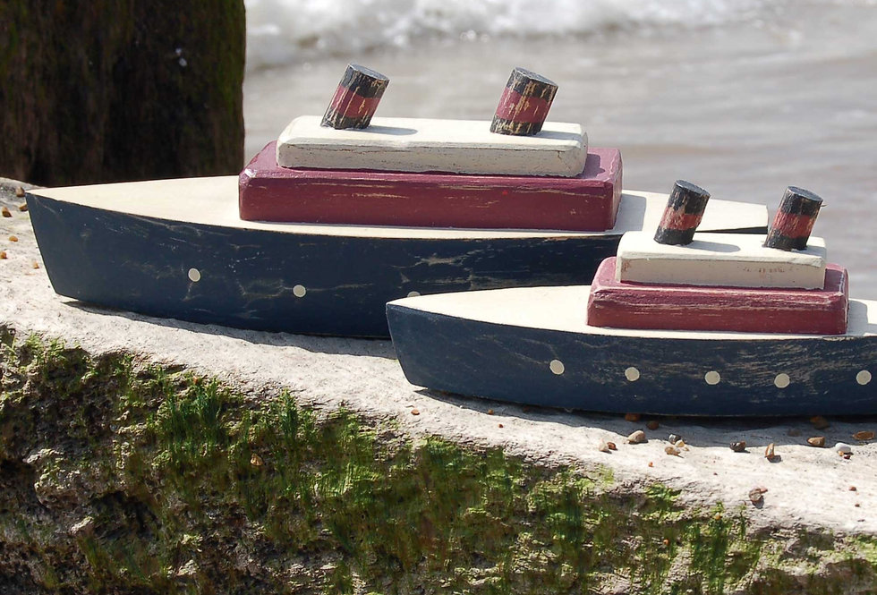 WOODEN STEAM SHIPS from