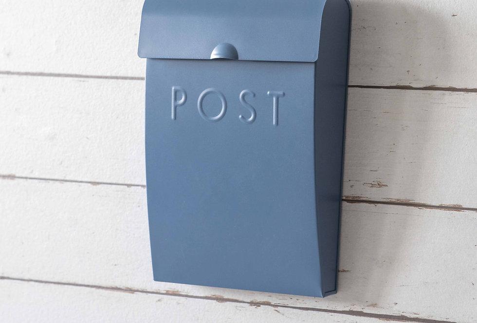 LULWORTH BLUE POST BOX