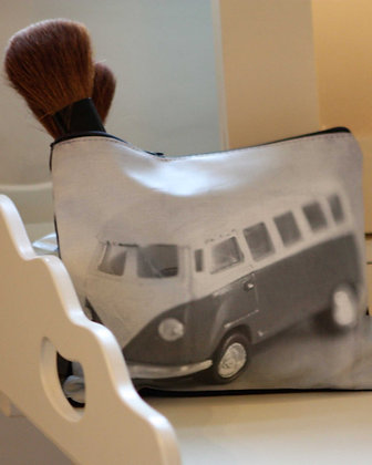 VW CAMPER ZIPPED PURSE