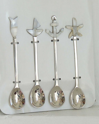 MOTHER OF PEARL SEA SPOONS