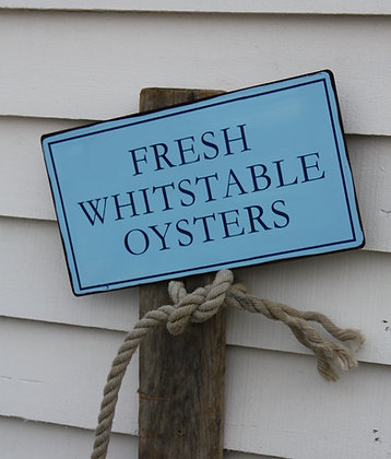 WHITSTABLE OYSTERS SIGN