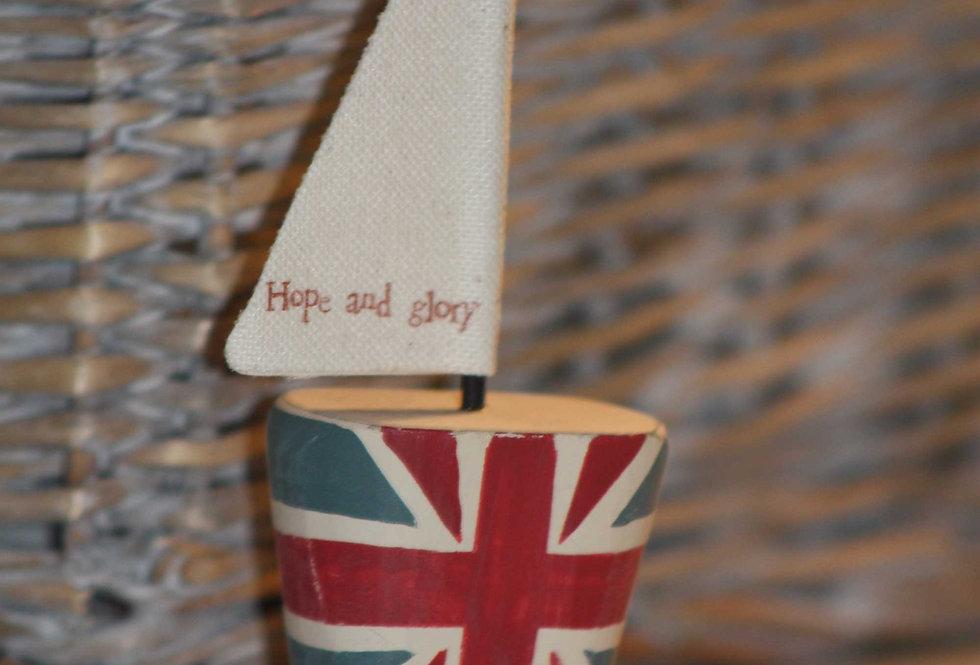 HOPE & GLORY SAIL BOAT