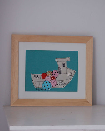 POPPY TREFFRY FISHING BOAT PICTURE