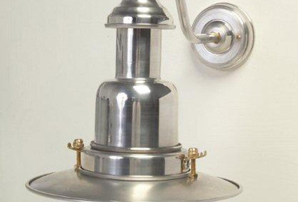 SMALL FISHERMAN WALL LAMP - SILVER