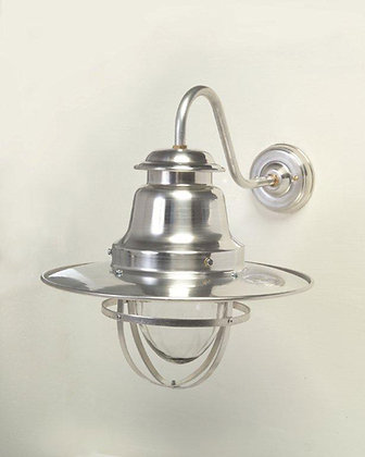 QUAYSIDE WALL LAMP - SILVER