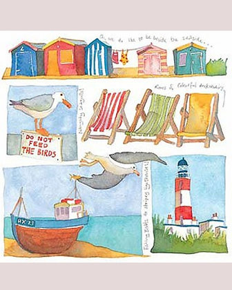 THE SEASIDE CARD BY EMMA BALL