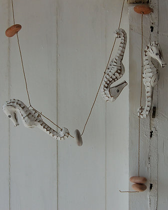 HAND CARVED SEAHORSE STRING