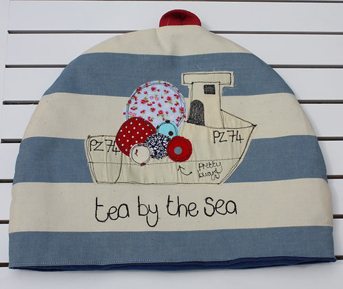 POPPY TREFFRY NAUTICAL TEA COSY