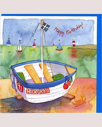 HAPPY BIRTHDAY BOAT CARD BY EMMA BALL