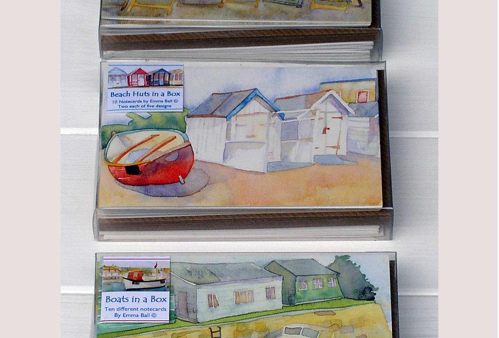 EMMA BALL REGIONAL NOTECARDS IN A BOX