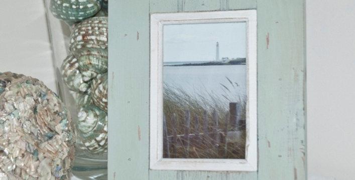 BEACH HUT STYLE PHOTO FRAME