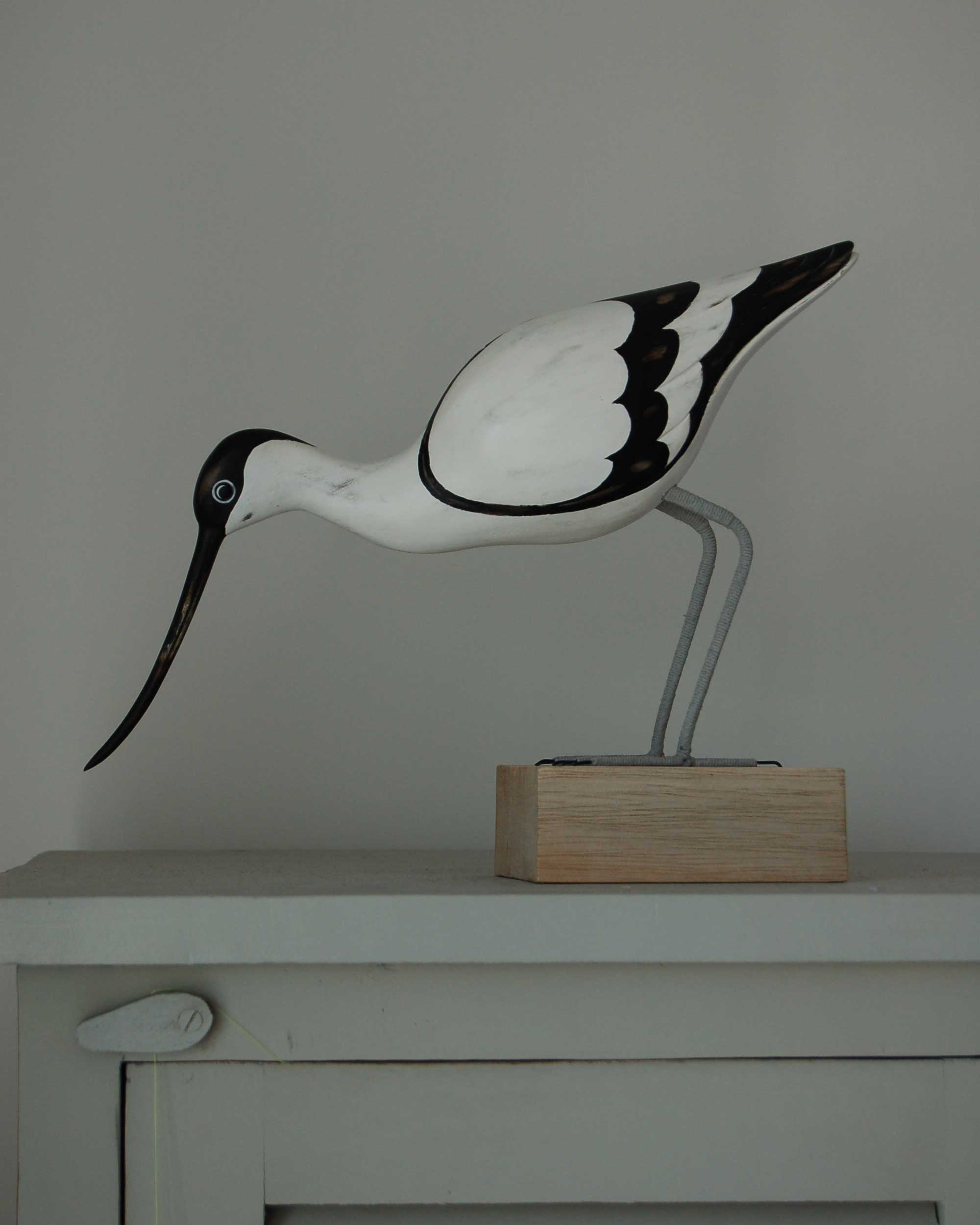 HAND CARVED AVOCET