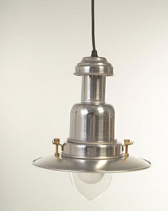 SMALL FISHING PENDANT LIGHT - SILVER