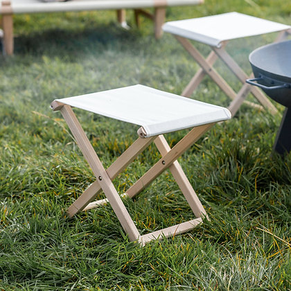 FOLDING CANVAS STOOL