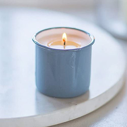 DORSET BLUE CANDLE POT