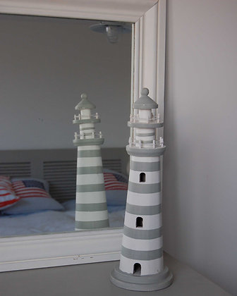 NANTUCKET STRIPED LIGHTHOUSE