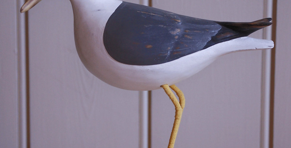 HAND CARVED SEAGULL