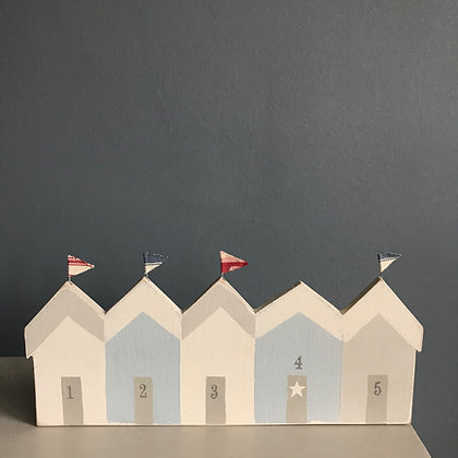 HANDMADE BEACH HUT ROW