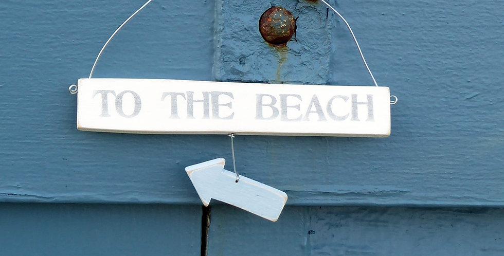 TO THE BEACH HANGER