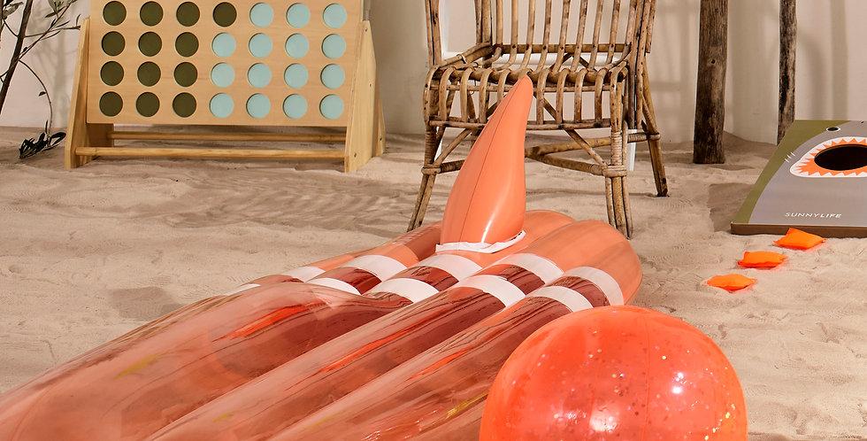 INFLATABLE GLITTER BEACH BALL